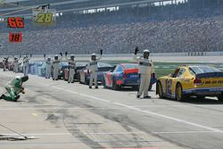 NASCAR officials indicate that drivers are ready