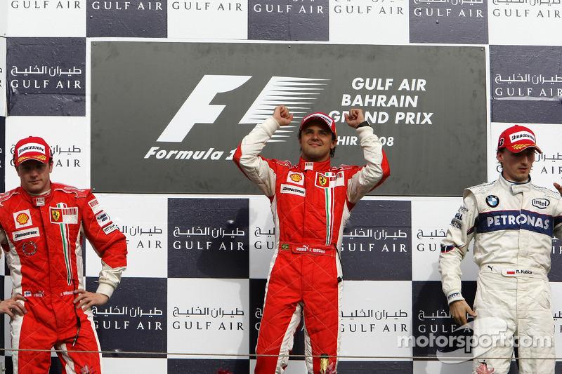 2008: Felipe Massa, Kimi Räikkönen, Robert Kubica