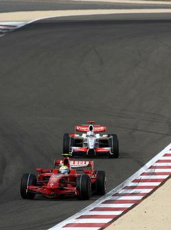 Felipe Massa, Scuderia Ferrari, Adrian Sutil, Force India F1 Team