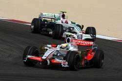 Giancarlo Fisichella, Force India F1 Team, Rubens Barrichello, Honda Racing F1 Team