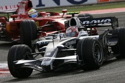 Kazuki Nakajima, Williams F1 Team, Felipe Massa, Scuderia Ferrari