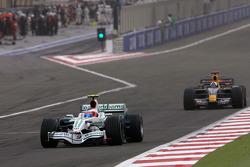 Rubens Barrichello, Honda Racing F1 Team, David Coulthard, Red Bull Racing