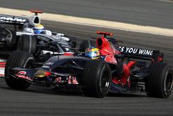 Sébastien Bourdais, Scuderia Toro Rosso, Nico Rosberg, WilliamsF1 Team