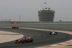 Start, Felipe Massa, Scuderia Ferrari and Robert Kubica, BMW Sauber F1 Team, F1.08