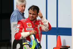 Race winner Felipe Massa