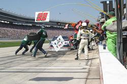 Pit stop for Dale Earnhardt Jr