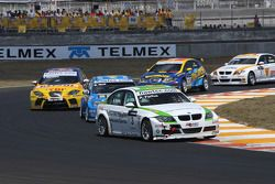 Augusto Farfus, BMW Team Germany, BMW 320si, Robert Huff, Chevrolet, Chevrolet Lacetti