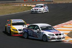 Franz Engstler, Engstler Motorsport, BMW 320si and Oliver Tielemans, Wiechers-Sport, BMW 320si