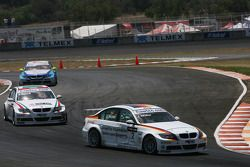 Jorg Muller, BMW Team Germany, BMW 320si and Alex Zanardi, BMW Team Italy-Spain, BMW 320si