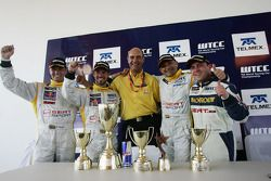 Rickard Rydell, Seat Sport, Seat Leon TDI, Tiago Monteiro, Gabriele Tarquini, Seat Sport, Seat Leon TDI, Pierre-Yves Corthals, Exagon Engineering, Seat Leon FSI