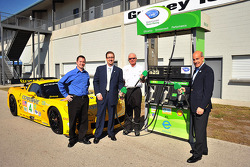 Scott Atherton presents the American Le Mans Series Green Racing initiative