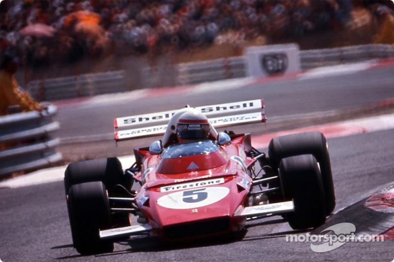 1971-1973: Ferrari 312B2 (две победы, 3-е место в КК в 1971-м, 4-е место в КК в 1972-м)