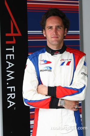Franck Montagny, driver of A1 Team France