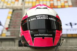Franck Montagny, driver of A1 Team France helmet