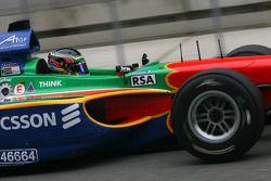 Adrian Zaugg, driver of A1 Team South Africa
