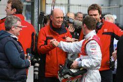 Wolfgang Ullrich, Audi, Motorsport chief and Tom Kristensen, Audi Sport Team Abt Audi A4 DTM 2008