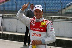 Pole position for Timo Scheider, Audi Sport Team Abt Sportsline