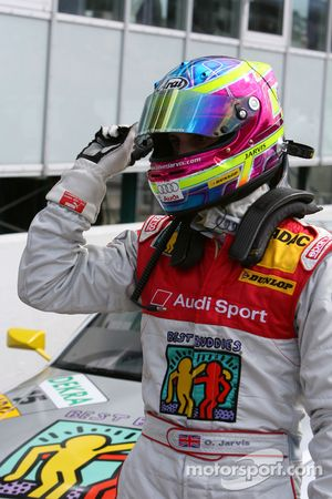 Oliver Jarvis, Audi Sport Team Phoenix, happy with his qualifying result