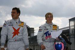 Gary Paffett, Stern AMG Mercedes C-Klasse 2007 and Susie Stoddart, TV Spielfilm AMG Mercedes C-Klass
