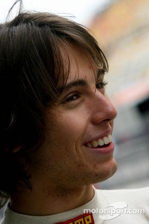 Edoardo Piscopo, driver of A1 Team Italy