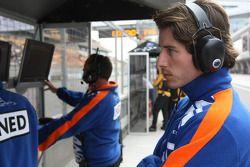 Arie Luyendyk Jr., driver of A1 Team Netherlands