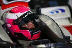 Franck Montagny, driver of A1 Team France