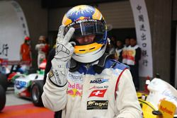 Double pole for Neel Jani, driver of A1 Team Switzerland