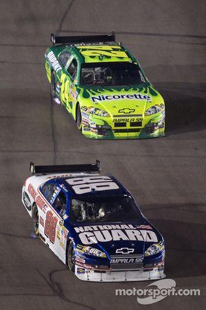 Dale Earnhardt Jr. devance Jeff Gordon