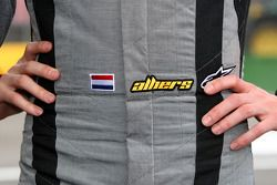 Suit of Christijan Albers, TME, Audi A4 DTM