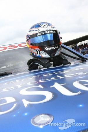 Helmet of Maro Engel, Mücke Motorsport AMG Mercedes, AMG Mercedes C-Klasse