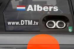 Side panel of the car of Christijan Albers, TME, Audi A4 DTM