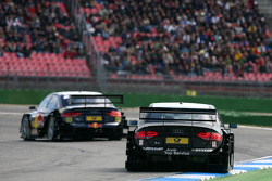 Timo Scheider, Audi Sport Team Abt, Audi A4 DTM, trails Mattias Ekström, Audi Sport Team Abt Sports