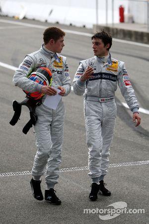 Paul di Resta and Bruno Spengler