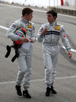 Paul di Resta and Bruno Spengler