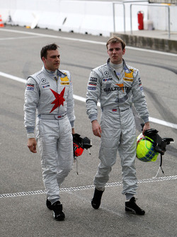 Gary Paffett and Jamie Green
