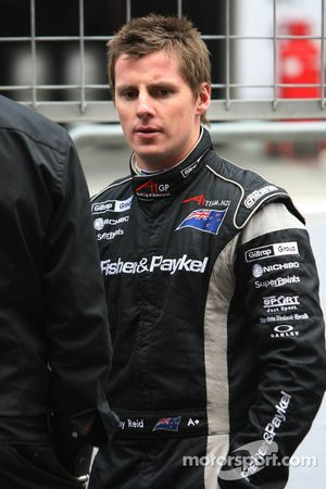 Jonny Reid, driver of A1 Team New Zealand