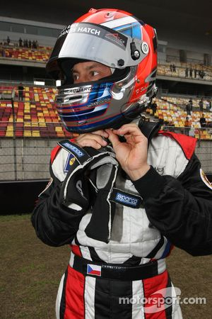 Filip Salaquarda, driver of A1 Team Czech Republic
