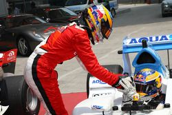 Robert Wickens, driver of A1 Team Canada and Neel Jani, driver of A1 Team Switzerland