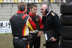 Michael Ammermuller, driver of A1 Team Germany