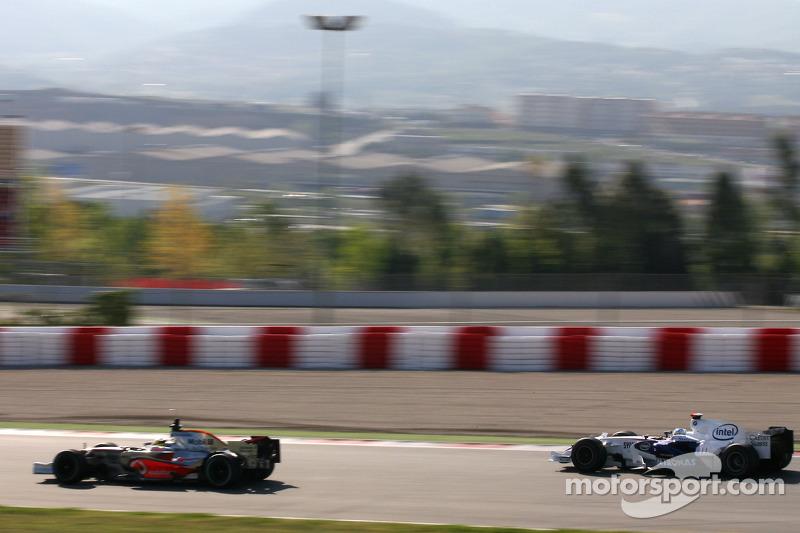 Nick Heidfeld, BMW Sauber F1 Team, Pedro de la Rosa, Test Pilotu, McLaren Mercedes