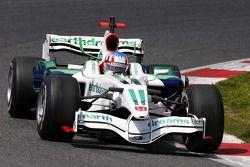 Alexander Wurz, Test Driver, Honda Racing F1 Team, on slicks
