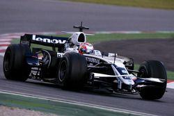 Kazuki Nakajima, Williams F1 Team, on slicks