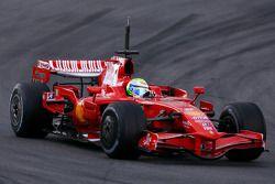 Felipe Massa, Scuderia Ferrari, on slicks