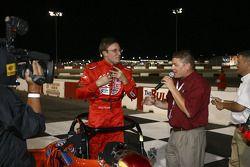 Doug Kalitta being interviewed