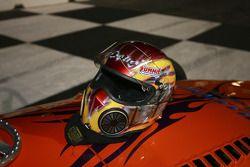 Close-up of Doug Kalitta's Helmet
