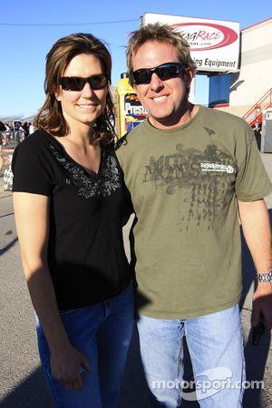 Melanie Troxel and Tommy Johnson