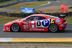 Christians in Motorsport Ferrari 430 going towards Scotsman