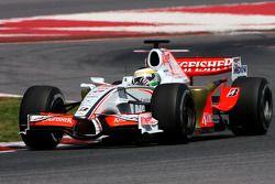 Giancarlo Fisichella, Force India F1 Team, on slicks