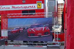 Corsa Motorsports visits Utah Jazz at EnergySolutions Arena in Salt Lake City