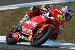 Alvaro Bautista en route pour la victoire en 250cc